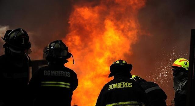 Incendio en Carretera Austral