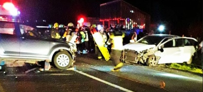 Cinco heridos por violento accidente de tránsito en la ciudad de Chonchi (Chiloé)