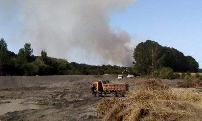 Continúa incendio forestal en sector Quitra Quitra de San Pablo (Osorno)