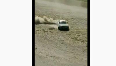 Investigan a carabinero que derrapó con su vehículo en cancha de tierra de Puerto Montt