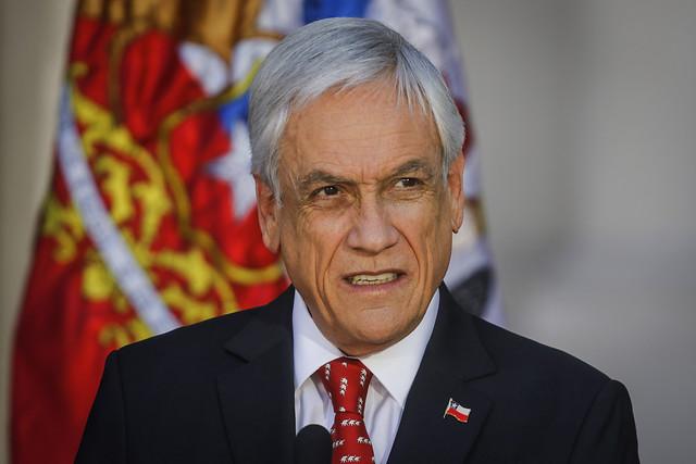inhabilitar a Piñera
