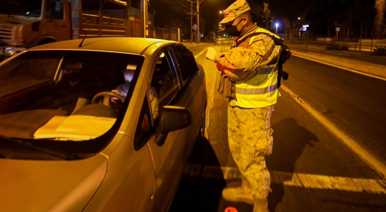 Toque de queda en Osorno