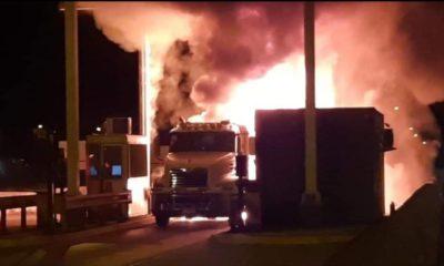 Incendio en Calbuco