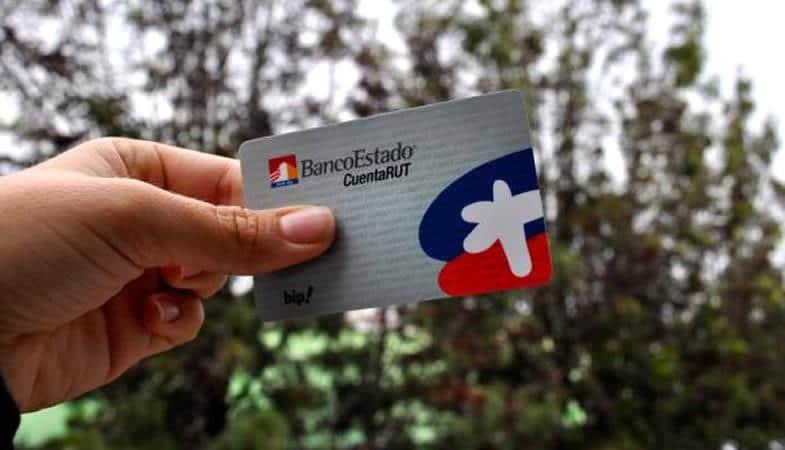 Tarjetas CuentaRUT de BancoEstado