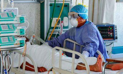 pacientes con covid en Los Lagos