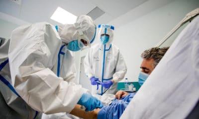 Hospitalizados por covid en Los Lagos
