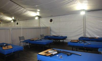 hospital de campaña en Chiloé