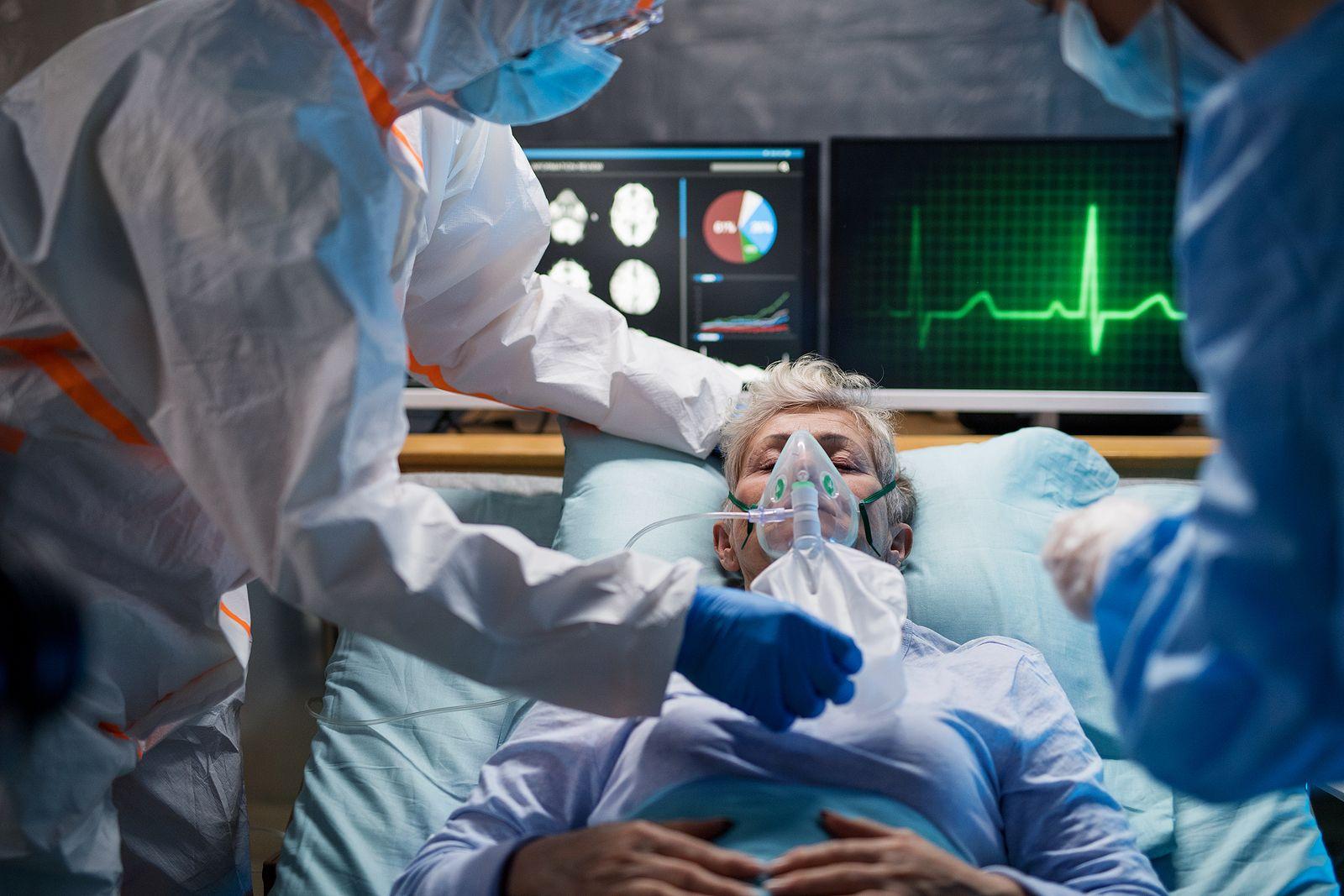 pulmones luego de sufrir de covid