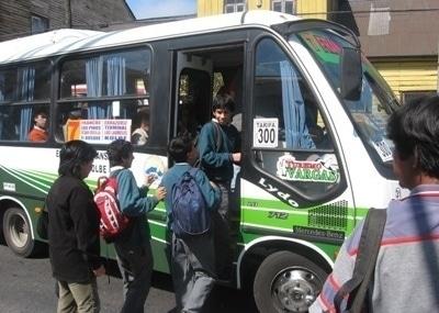 Tarifas de microbuses
