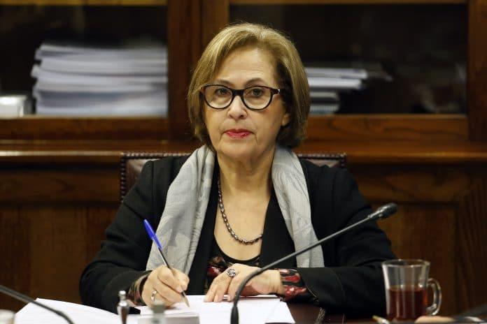 presidenta del Senado