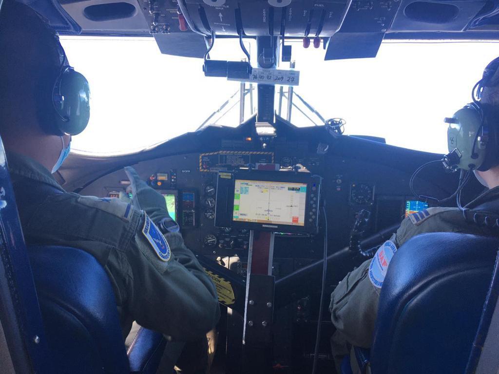 Avión FACh especializado