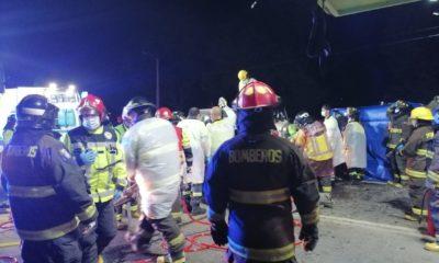 Accidente en Castro