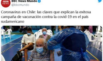 vacunación anticovid en Chile